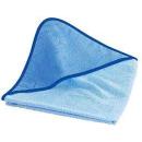 Baby Kapuzentuch mit Name und Geburtsdatum 100x100 cm