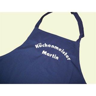 Küchenschürze Küchenmeister/in