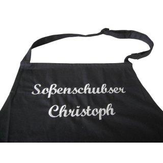 Küchenschürze Sossenschubse/r