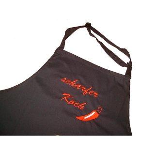 scharfer Koch/scharfe Köchin Küchenschürze