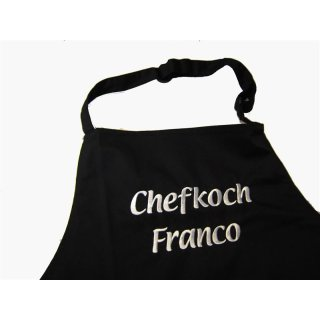 Küchenschürze Chefkoch/Chefköchin
