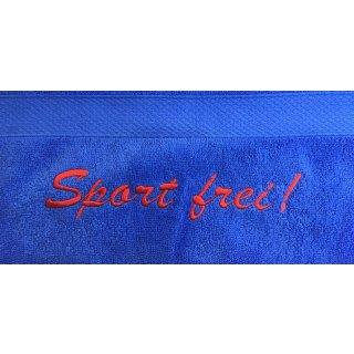 Sport Handtuch mit Namen