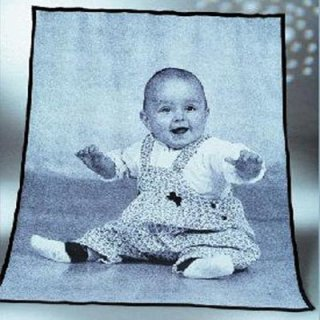 Babydecke, Fotodecke
