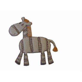 Zebra Aufnäher