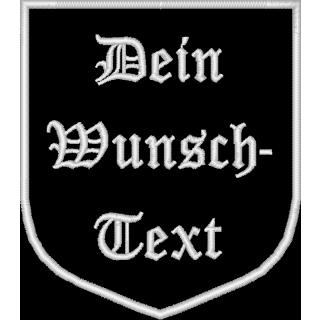 Wappen mit Wunschtext 7x8 cm