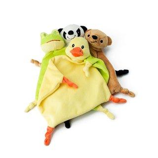 Schmusetuch Ente, Bär, Panda, Frosch