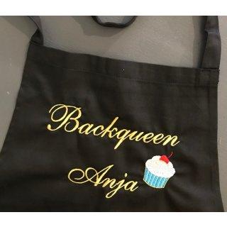Schürze Backqueen Cupcake